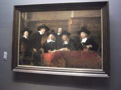 Rembrant Art in Rijks Museum