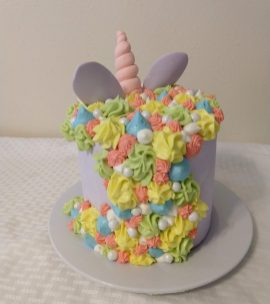 Unicorn cake (back)