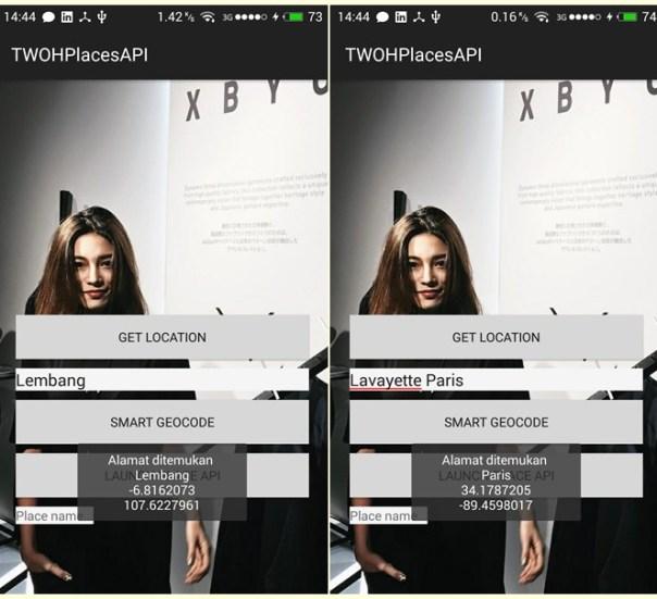 Android Geocoding Sample