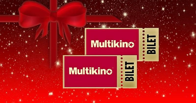 Konkurs mikołajkowy. Do wygrania bilety do Multikina!