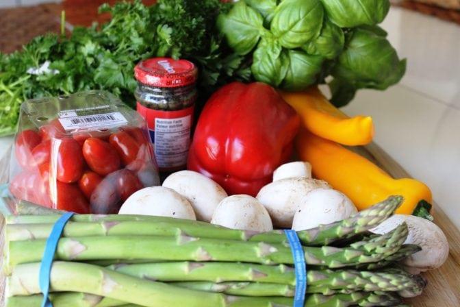 choose your veggies