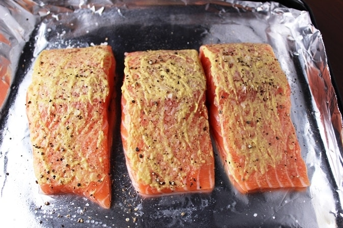 Salmon with Dijon