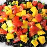 Warm Black Rice Salad