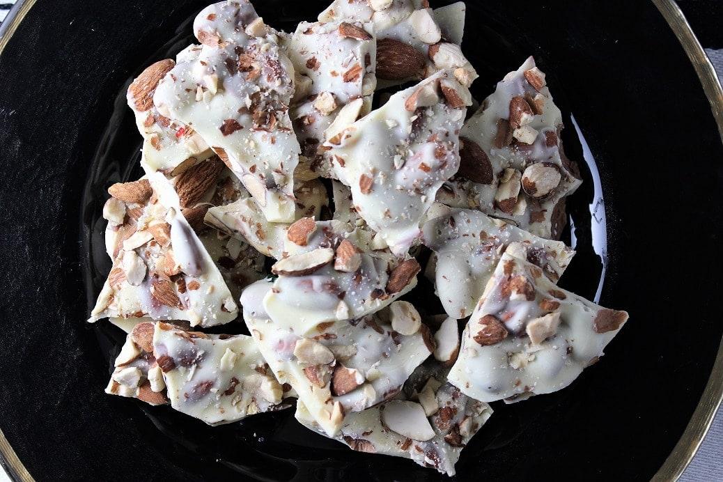 Roasted Almond Bark