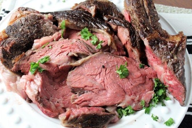 sous vide prime rib roast