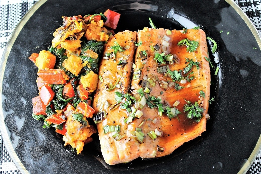 Maple Balsamic Rainbow Trout