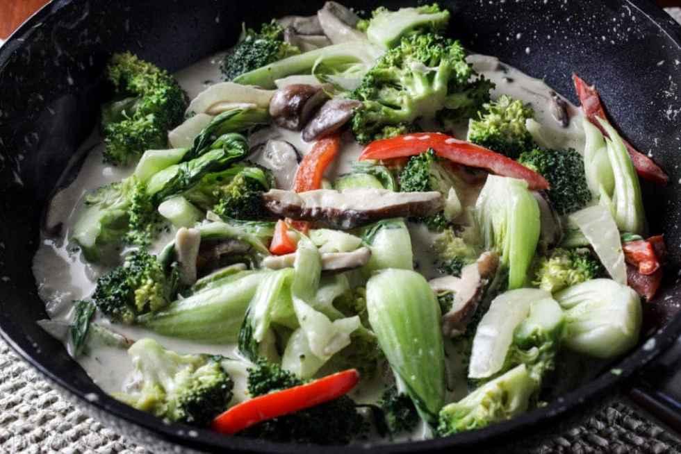Kanokwan Curry Vegetables
