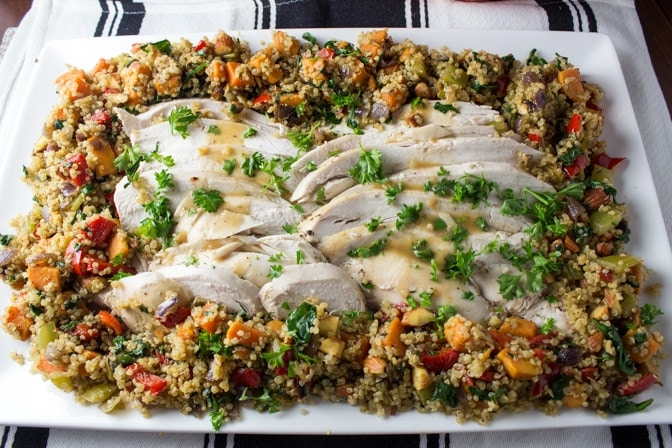 Vegetable Quinoa Stuffing