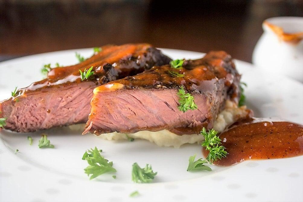 Sous Vide BBQ Boneless Beef Short Ribs