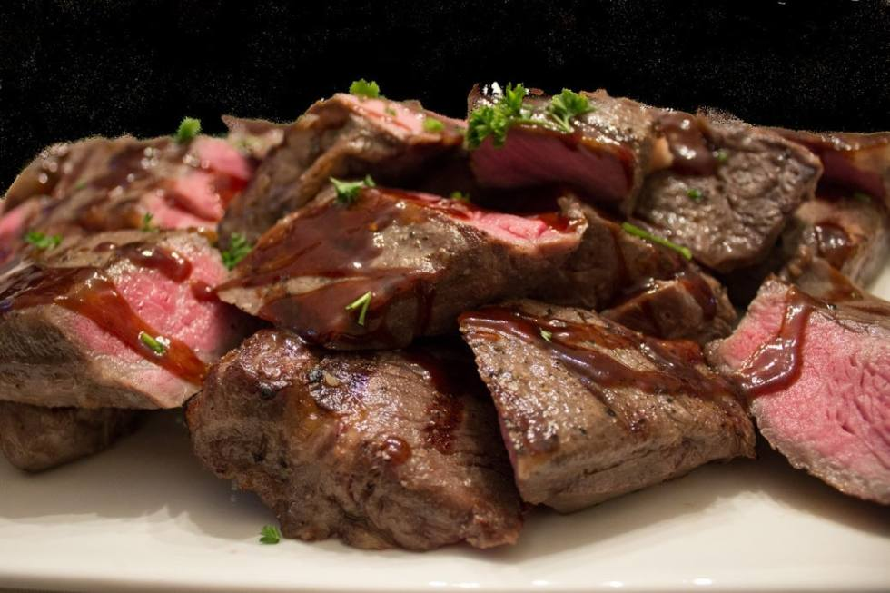 Sous Vide Steak with Balsamic Sauce Two Ways