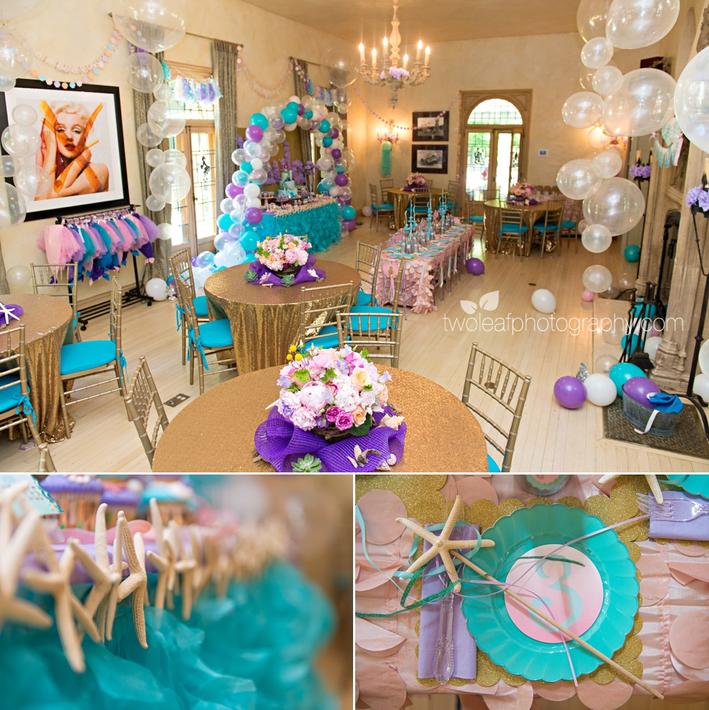 Mermaid Baby Shower Decorations