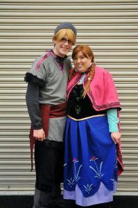 Anna and Kristoff Cosplays