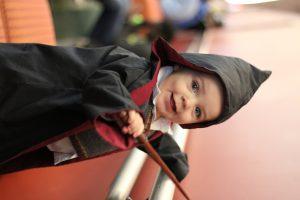 Baby Gryffindor Student