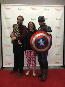 Captain America at Cricut