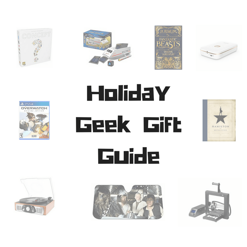 Holiday Geek Gift Guide
