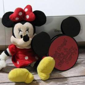 Mickey Mouse Birthday Invites