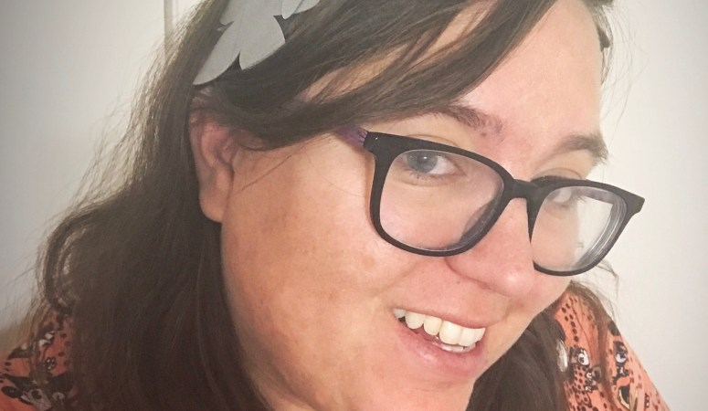 Faux Leather Floral Crown Made With A Cricut