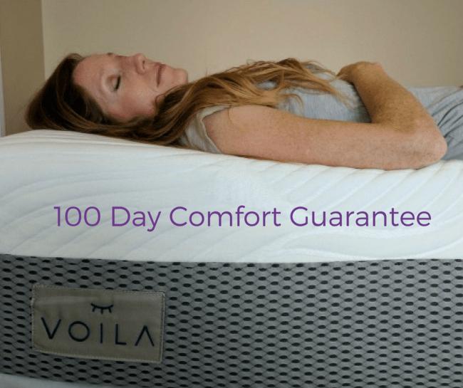 Voila comfort guarantee