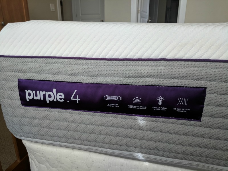 Purple 4 mattress