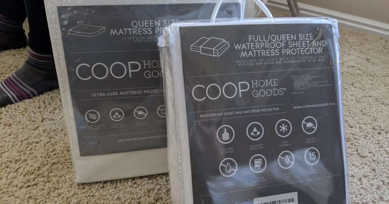 Coop Incontinence Pad and Mattress Protector Review