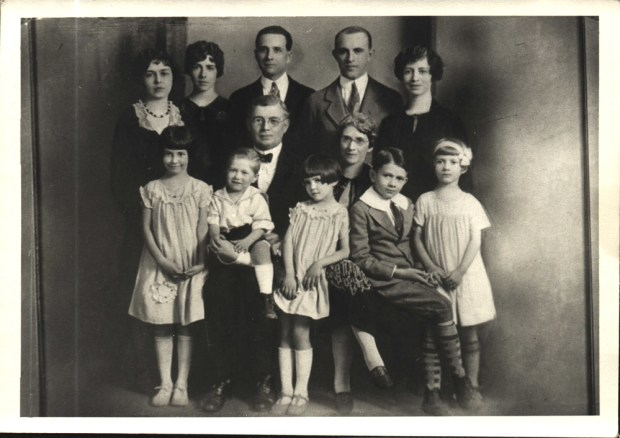 Sarah Lee King in a family photo as a young lady in the 1920s