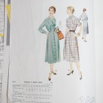 3010 Mccalls 1954 Winter Vintage Pattern | 1950s Two Old Beans Vintage Clothing