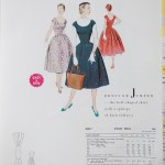 3006 Mccalls 1954 Winter Vintage Pattern | 1950s Two Old Beans Vintage Clothing