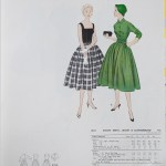3011 Mccalls 1954 Winter Vintage Pattern | 1950s Two Old Beans Vintage Clothing