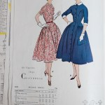 3032 Mccalls 1954 Winter Vintage Pattern | 1950s Two Old Beans Vintage Clothing