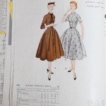 9960 Mccalls 1954 Winter Vintage Pattern | 1950s Two Old Beans Vintage Clothing