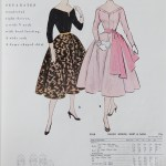 9958 Mccalls 1954 Winter Vintage Pattern | 1950s Two Old Beans Vintage Clothing