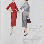 9915 Mccalls 1954 Winter Vintage Pattern | 1950s Two Old Beans Vintage Clothing