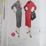 9946 Mccalls 1954 Winter Vintage Pattern | 1950s Two Old Beans Vintage Clothing