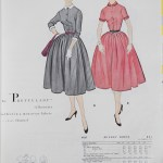 9927 Mccalls 1954 Winter Vintage Pattern | 1950s Two Old Beans Vintage Clothing