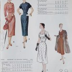 9719 + 9628 Mccalls 1954 Winter Vintage Pattern | 1950s Two Old Beans Vintage Clothing