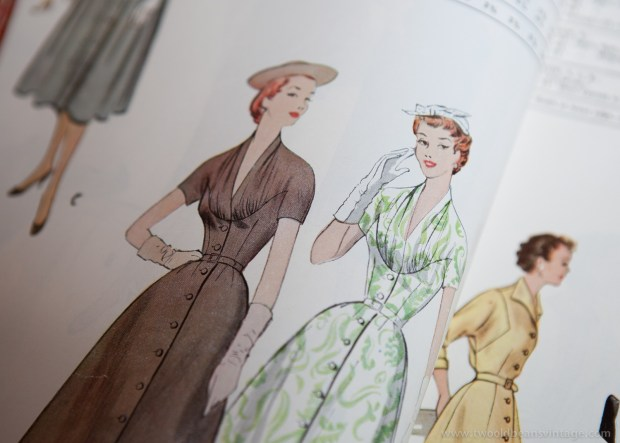 9786 Mccalls 1954 Winter Vintage Pattern | 1950s Two Old Beans Vintage Clothing