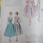 9792 + 9793 Mccalls 1954 Winter Vintage Pattern | 1950s Two Old Beans Vintage Clothing
