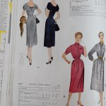9849 +9853 Mccalls 1954 Winter Vintage Pattern | 1950s Two Old Beans Vintage Clothing