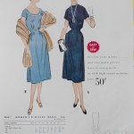 9855 Mccalls 1954 Winter Vintage Pattern | 1950s Two Old Beans Vintage Clothing