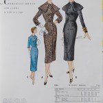 9884 Mccalls 1954 Winter Vintage Pattern | 1950s Two Old Beans Vintage Clothing