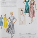 9189 + 9350 Mccalls 1954 Winter Vintage Pattern | 1950s Two Old Beans Vintage Clothing