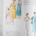 9219 + 9466 Mccalls 1954 Winter Vintage Pattern | 1950s Two Old Beans Vintage Clothing