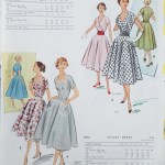9238 + 8972 Mccalls 1954 Winter Vintage Pattern | 1950s Two Old Beans Vintage Clothing