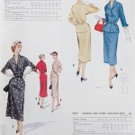 9467 + 9289 Mccalls 1954 Winter Vintage Pattern | 1950s Two Old Beans Vintage Clothing