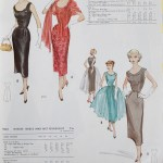 9570 + 9434 Mccalls 1954 Winter Vintage Pattern | 1950s Two Old Beans Vintage Clothing
