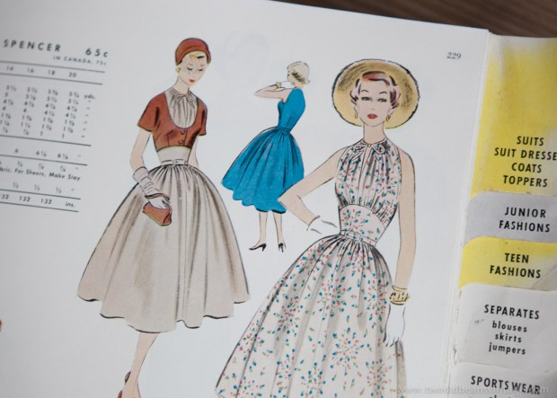 9790 Mccalls 1954 Winter Vintage Pattern | 1950s Two Old Beans Vintage Clothing