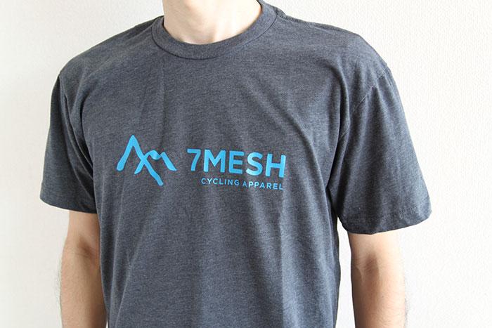 7mesh (セブンメッシュ) Logo T-Shirt (ロゴTシャツ) Chacoal チャコール グレー