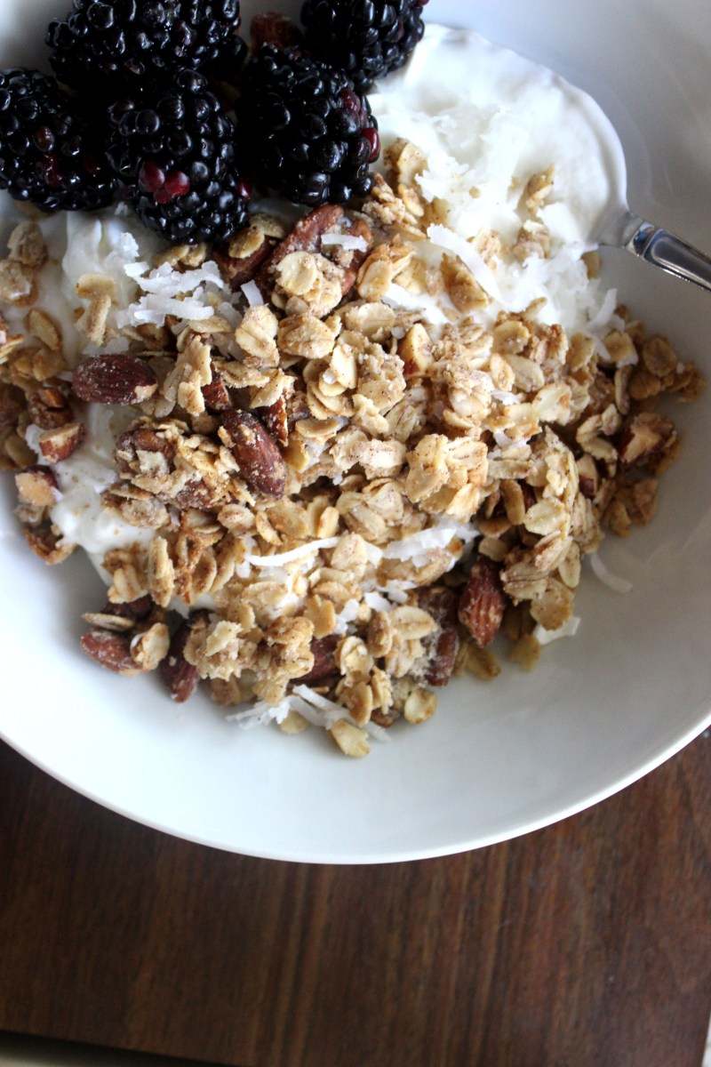 Pecan, Almond and Coconut Granola
