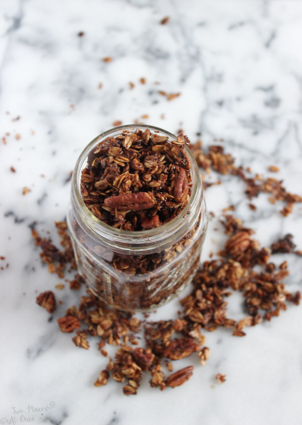 Chocolate Coconut Granola