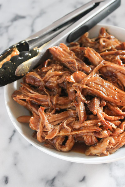 Slow Cooker Honey Ginger Lime Pork